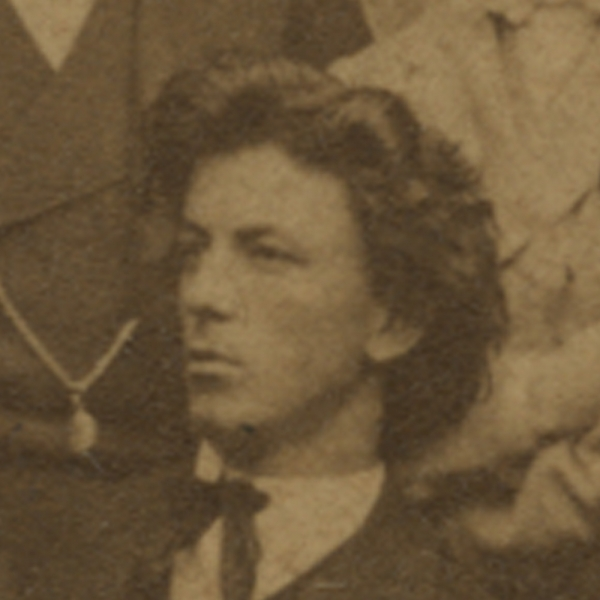 Photo: Ivan Tavčar as a secondary school student. In the possession of the Ljubljana Historical Archives – Škofja Loka Unit.