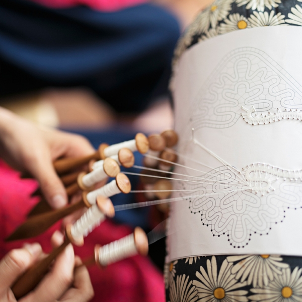 Bobbin lace and Cvetke – lacemaking in the Žiri area
